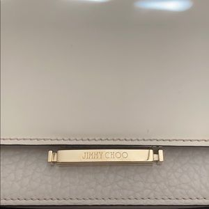Authentic JIMMY CHOO Smooth Pebbled Calfskin Purse
